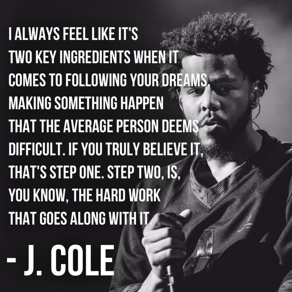 J Cole Quotes Jcole Follow Me On Pinterest Makayla9828  Management