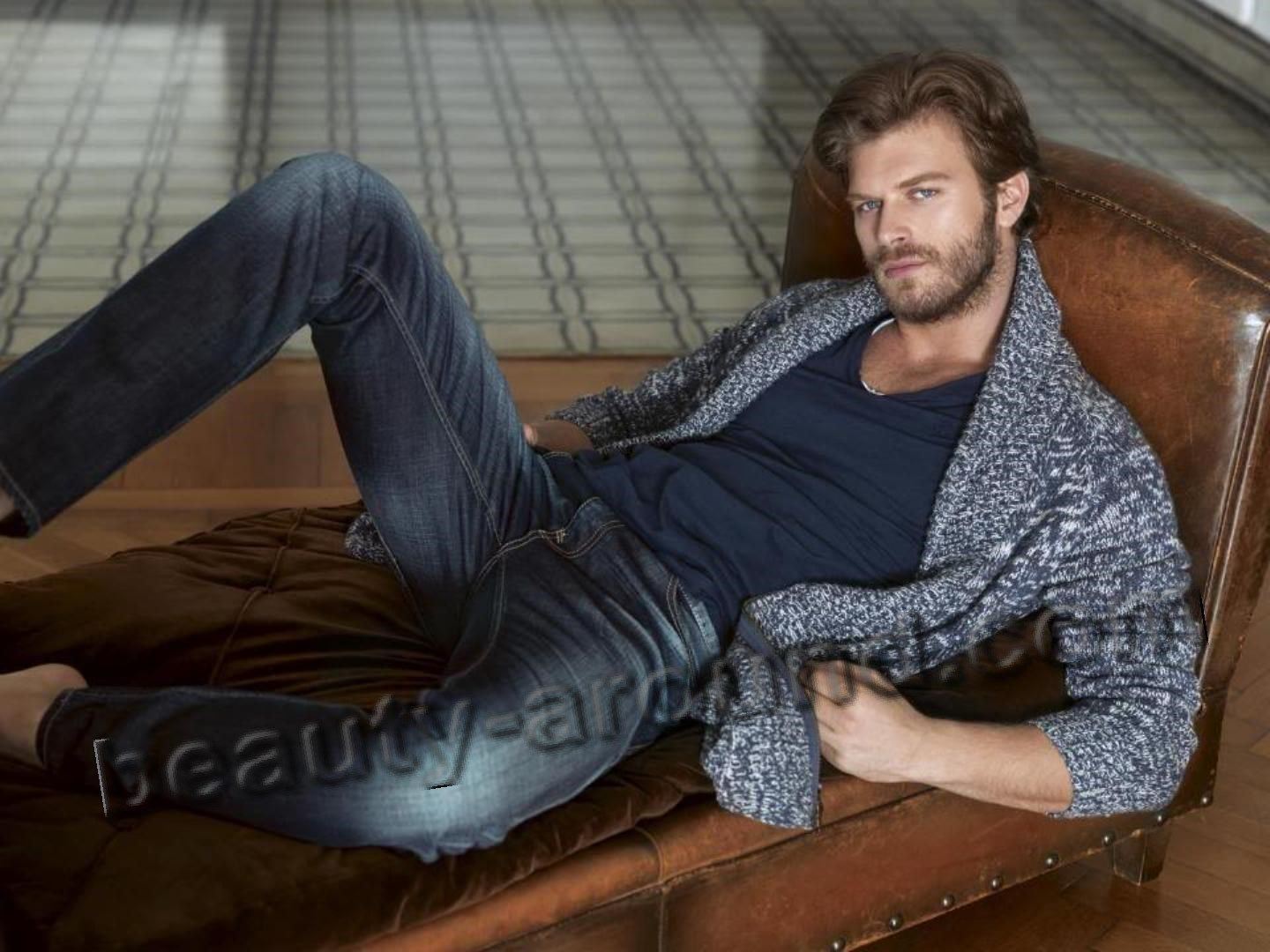 Kivanc Tatlitug Turkish actor and model photo