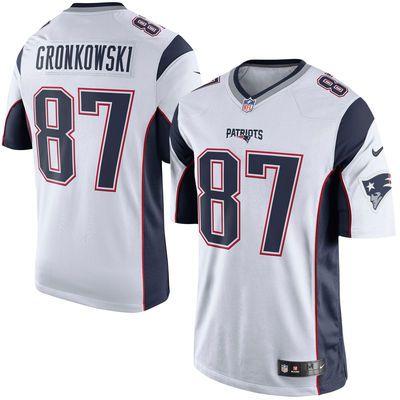 Men S New England Patriots Rob Gronkowski Nike White Limited Jersey Jersey Patriots New England Patriots Game New England Patriots