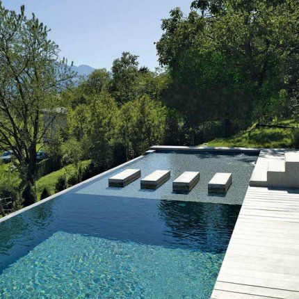 Lap and relax pool casa de campo pinterest piscinas for Piletas de campo