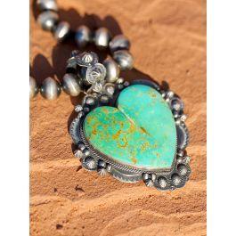 Photo of Antelope Canyon Heart Pendant