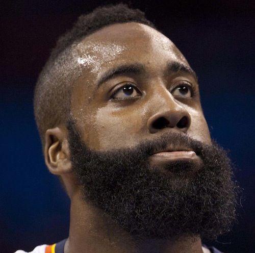 How to grow james harden beard