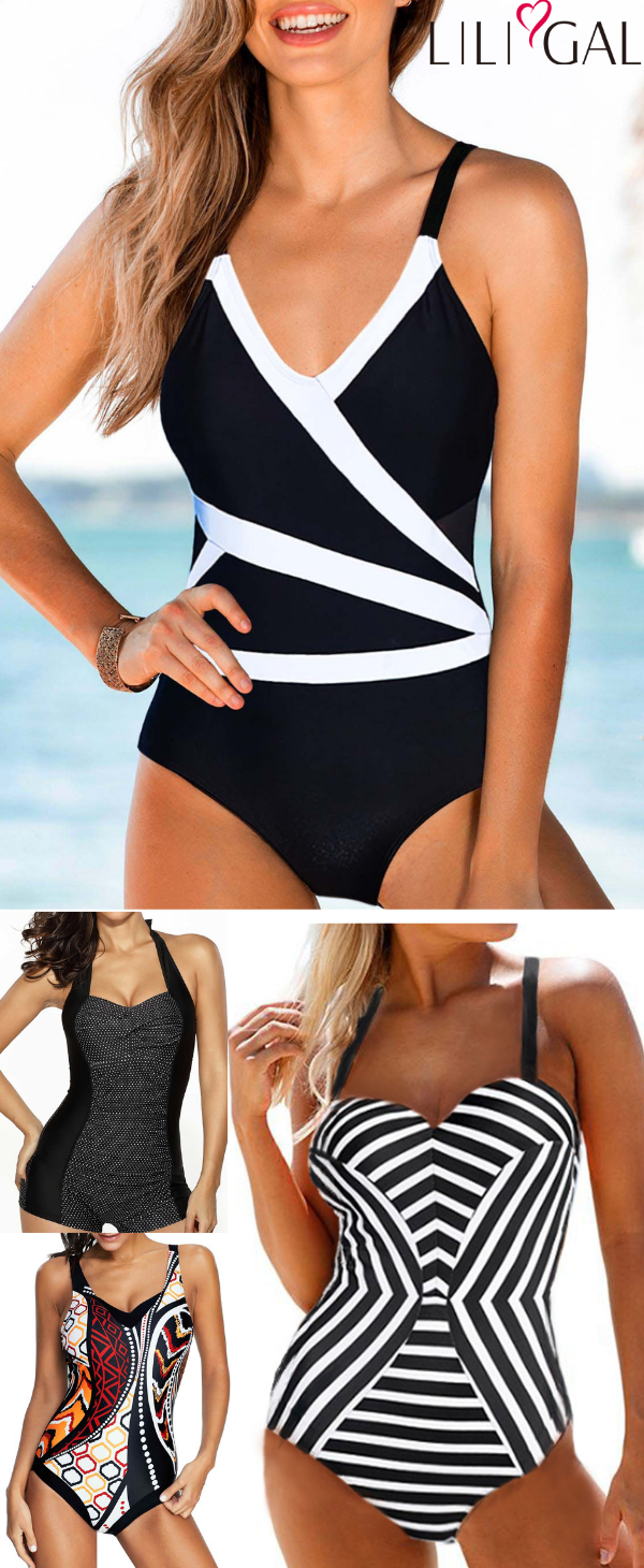 Cute and Classy One Piece Swimsuits for Summer Vacation