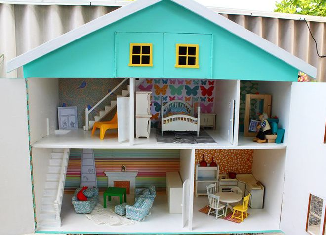 Aqua fun - a DIY Dolls House reno