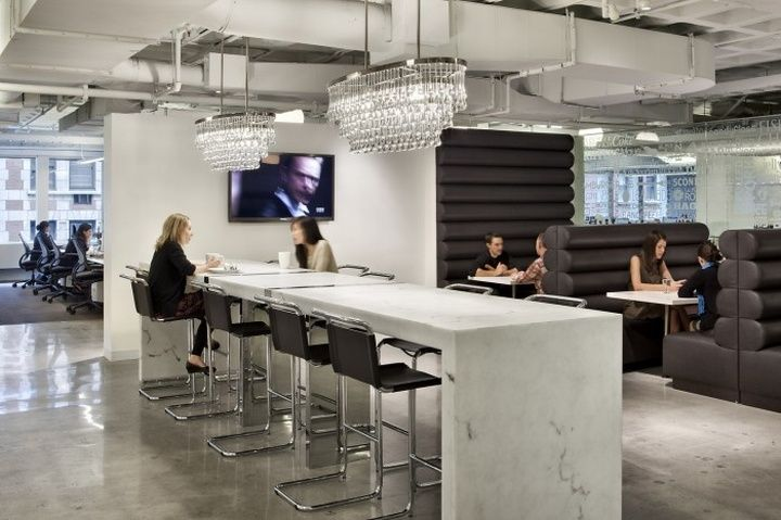BBC Worldwide Americas offices by Perkins Eastman, New York City
