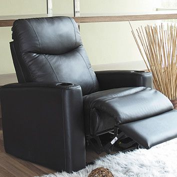 Wildon Home ® Prestige Leather Home Theater Recliner