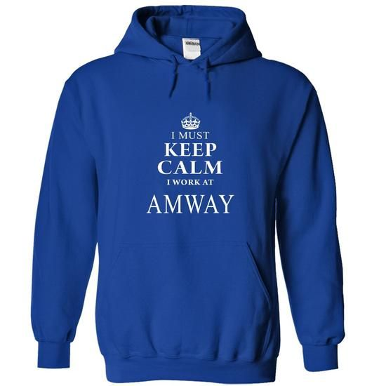 I Work At AMWAY - #graphic t shirts #tee shirt. LOWEST SHIPPING => https://www.sunfrog.com/LifeStyle/I-Work-At-AMWAY-RoyalBlue-Hoodie.html?id=60505