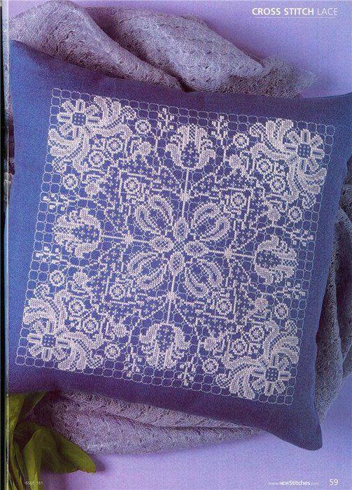 Узоры для ажурной вышивки
