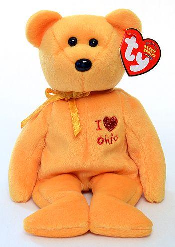 7de5434f942 Ohio (I love) - Bear - Ty Beanie Babies