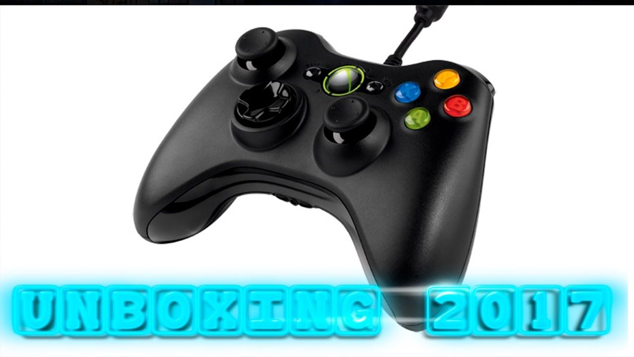 UNBOXING   CONTROL XBOX 360   PC USB   2017   ESPAÑOL