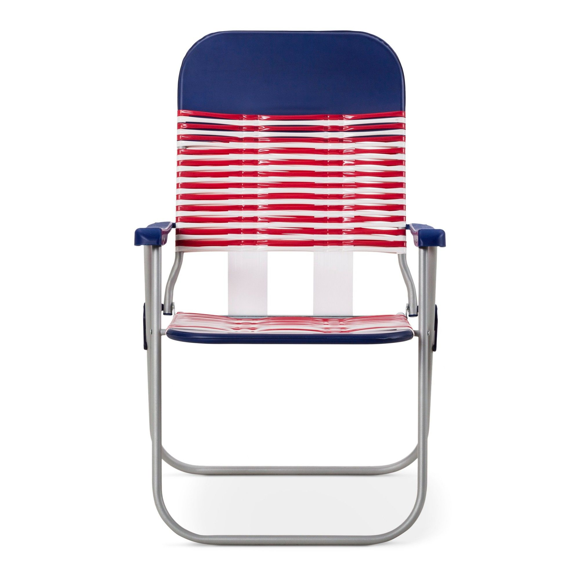 Astounding Jelly Folding Beach Chair Red White Blue Room Gmtry Best Dining Table And Chair Ideas Images Gmtryco