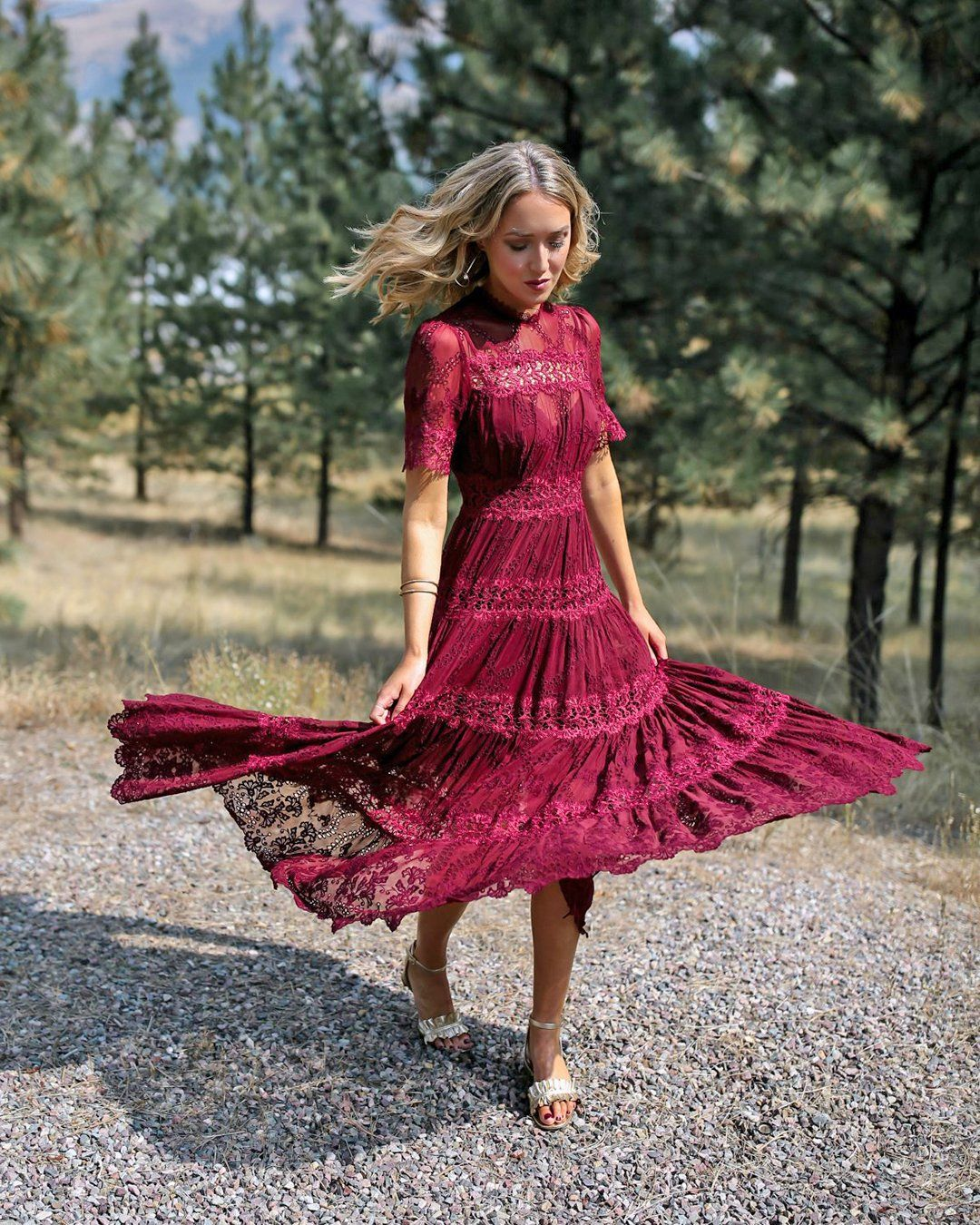 30 Wedding Guest Dresses For Every Seasons Style In 2021 Wedding Guest Dress Fall Wedding Guest Dress Bridesmaid Dresses With Sleeves [ 1350 x 1080 Pixel ]