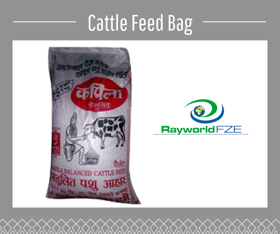 Cattle Feed Bags Are Specially Designed For Storing Feed Effectively You Can Get This Feed Bags As Per Your Requirement With Us Feed Bags Woven Bag Sack Bag