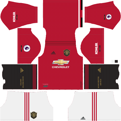 Check The Dream League Soccer Manchester United Kits 2019 With Its Latest Designed Logos An In 2020 Manchester United Manchester United Logo Manchester United Home Kit