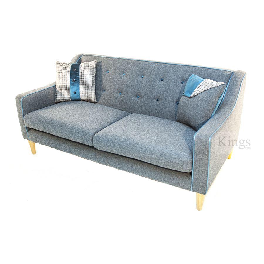 Tetrad Harris Tweed Dr Two Seater Sofa Www Kingsinteriors Co Uk Brands
