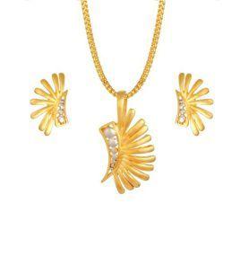 Matching gold or diamond pendant earring set online tanishq matching gold or diamond pendant earring set online tanishq mozeypictures Image collections