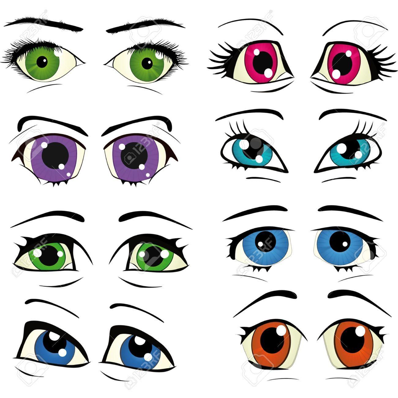 getekende ogen - Google zoeken | глазки | Pinterest | Muñecas de ...