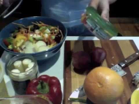 ▶ Day 16: Build a Gorilla Salad (Satisfying Salads) - YouTube - Happy Herbivore