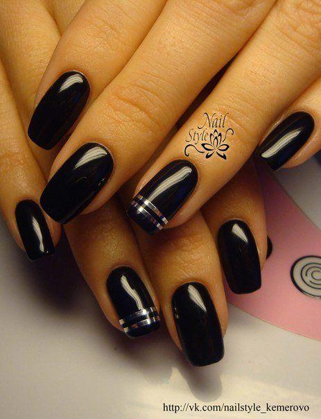 Nail Art 665 Nail Ideas Black Nails Nails 2016 Nails