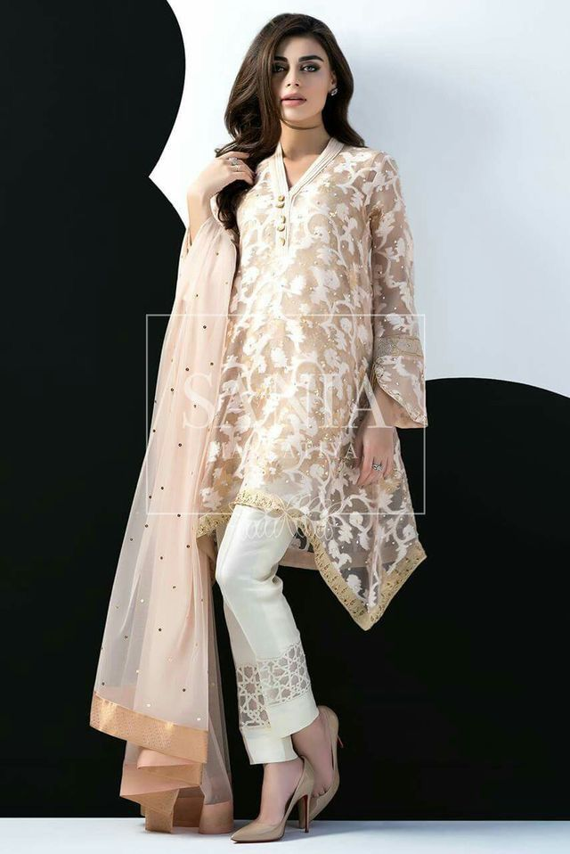 Pakistani party wear dress images
