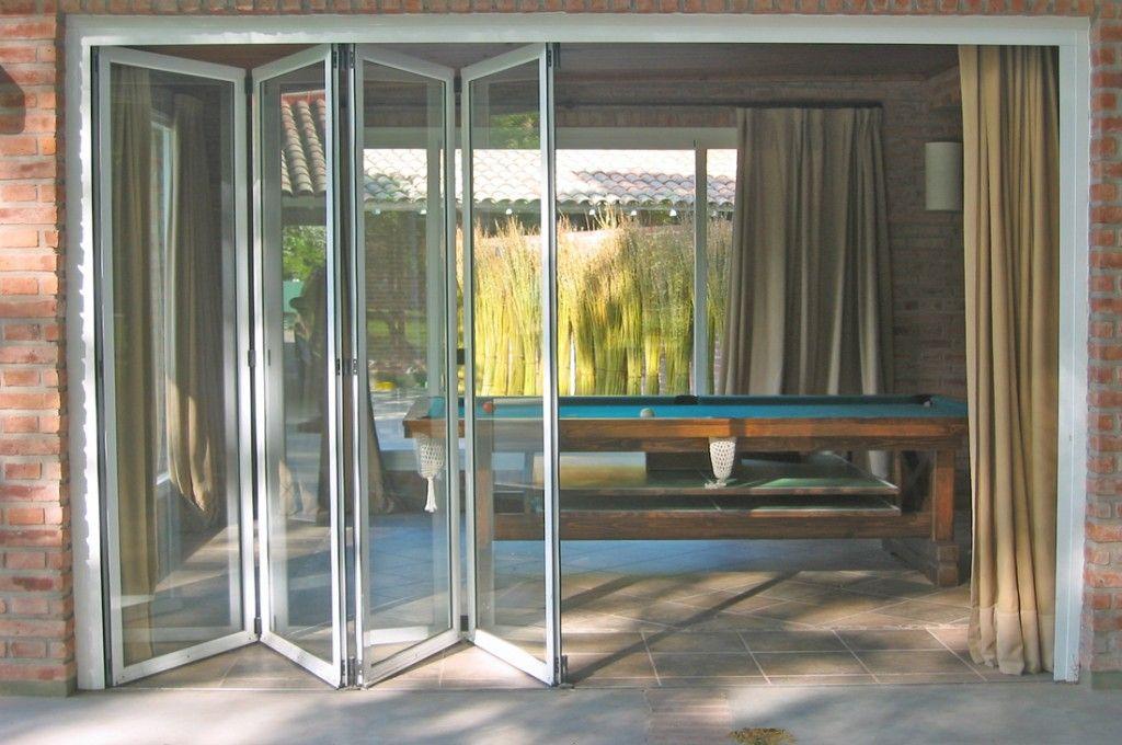 Alutecnic paneles y cortinas divisorias pinterest - Cerramientos plegables de vidrio ...