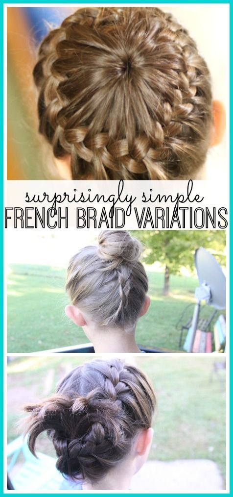 Surprisingly simple french braid variations french braid surprisingly simple french braid variations ccuart Gallery