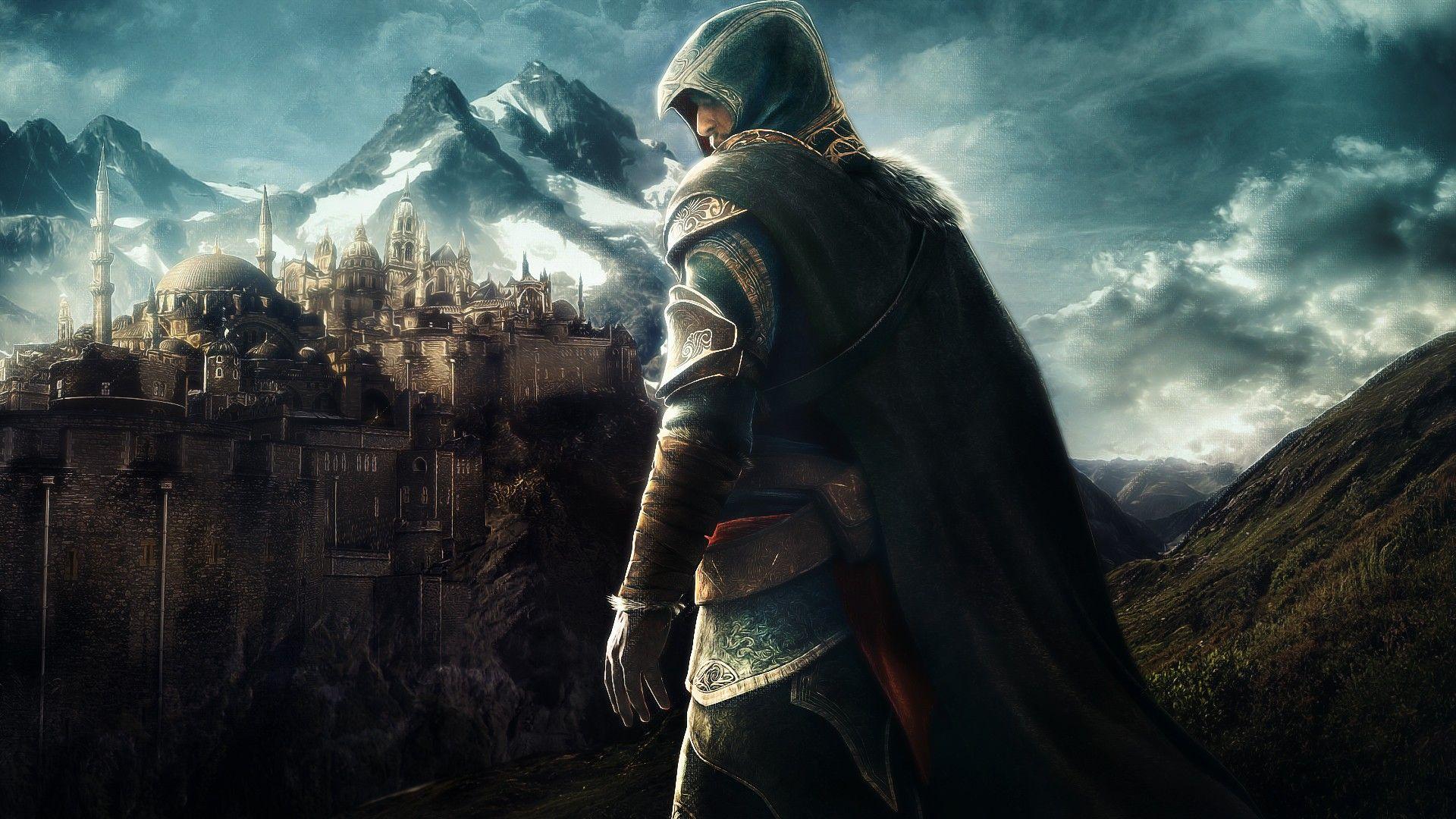 Creed Ezio 1080p Hd Wallpaper Games Gaming Wallpapers Assassin S Creed Wallpaper 4k Gaming Wallpaper