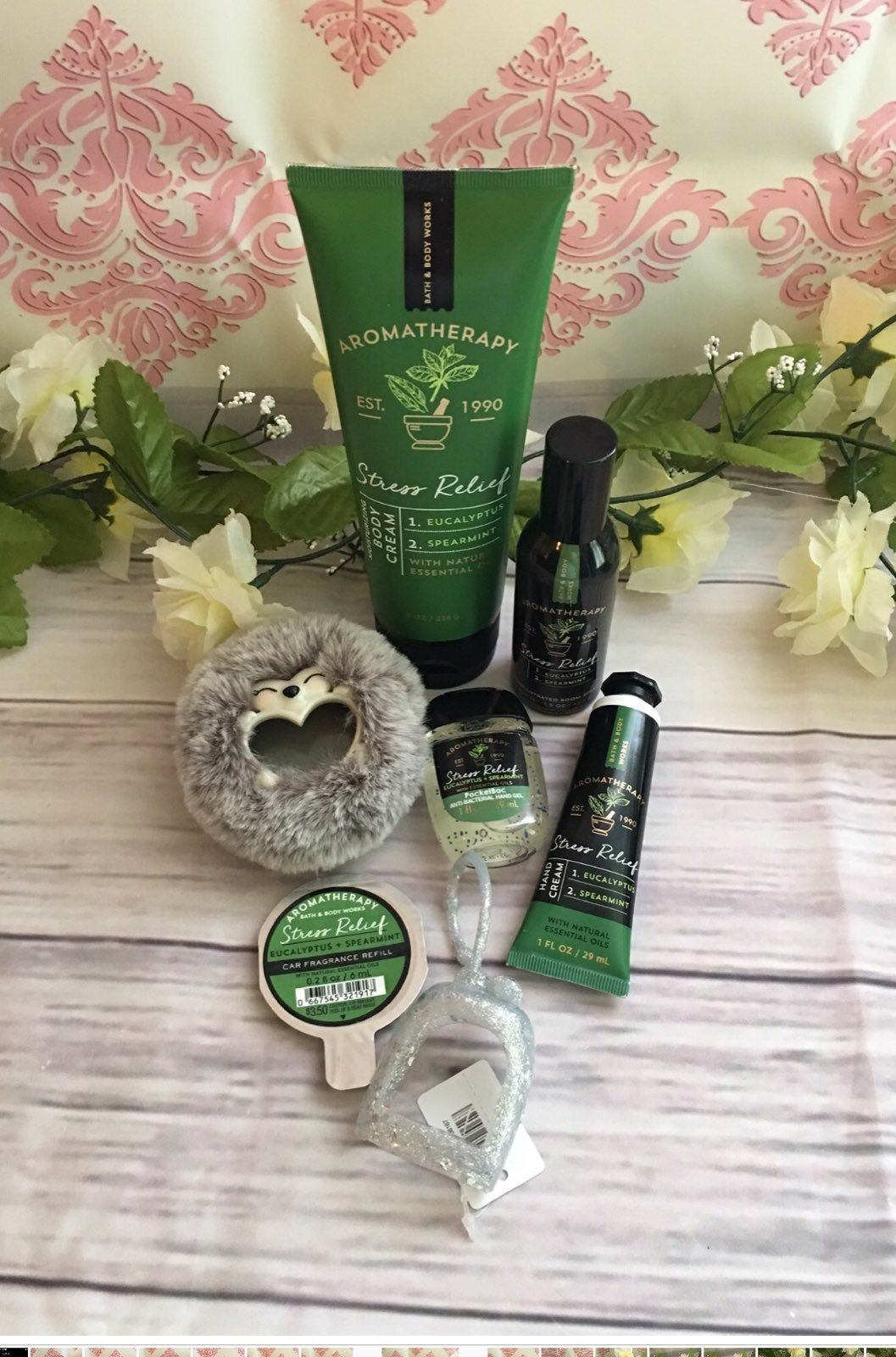 Eucalyptus Spearmint Includes 1 Body Cream 1 Hand Sanitizer 1
