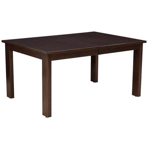 Amish Zurich Dining Table featuring polyvore, home, furniture