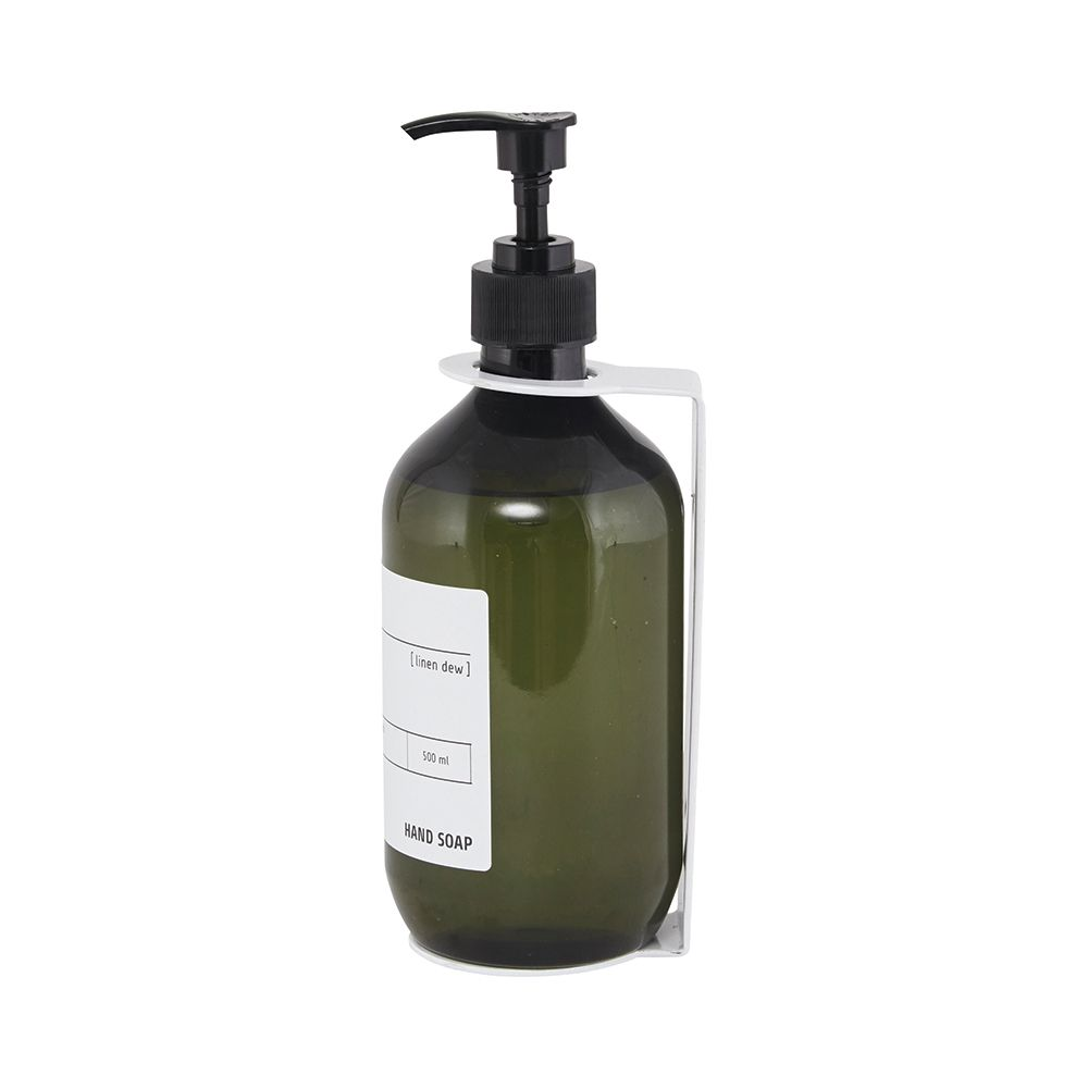 Soap Shower Gel Shampoo Bathroom Pump Dispenser Wall Mounted White Double Duschy From Ironmongery Hardware Online London U Shower Gel Hardware Online Soap