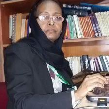 الدكتوره ساره سعد من المركز القومي للبحوث بالسودان