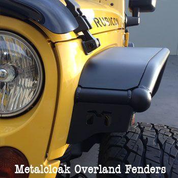 Overland Tube Fenders Jk Wrangler Front Jeep Jeep Wrangler