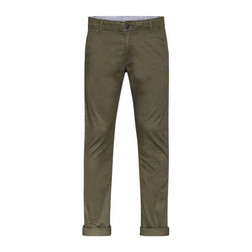 WE Fashion Blue Ridge slim fit chino forest night  WE Fashion Blue Ridge slim fit chino forest night