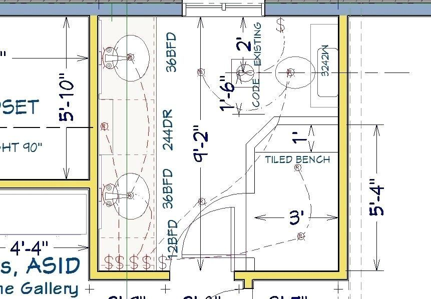 8 X 10 Master Bathroom Layout 8 X 10 Bathroomdesign10x8