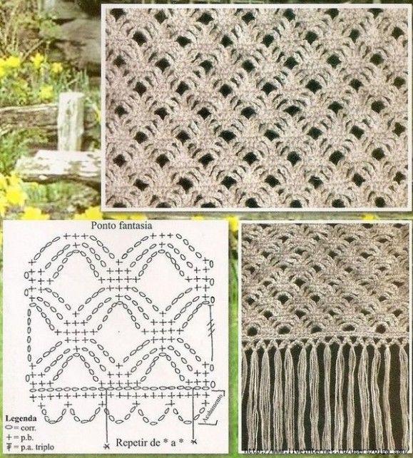 robó .. 9 | Ganchillo: Esquemas [ Crochet: Schemes ] | Pinterest ...