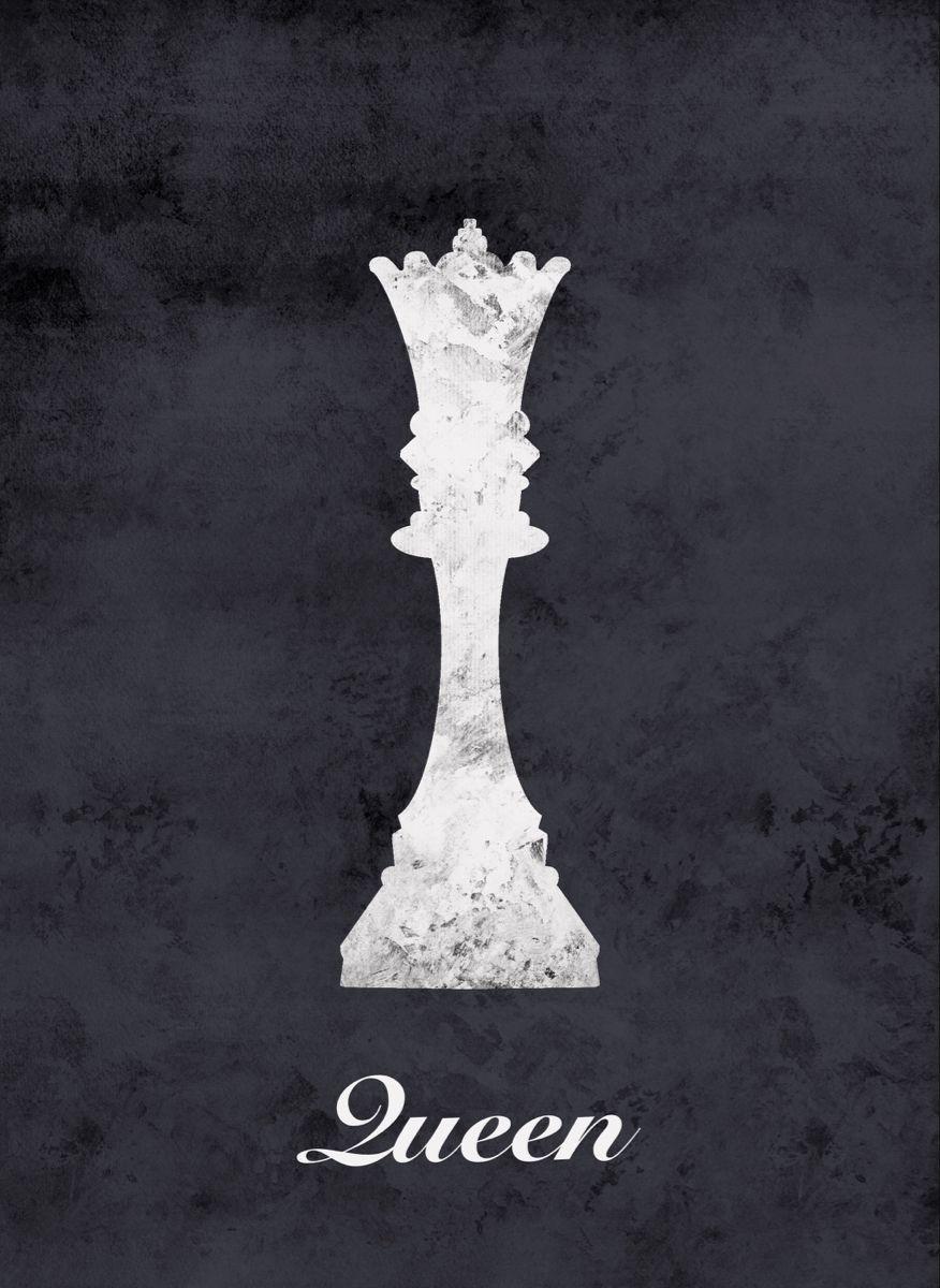 Chess Queen chess piece art