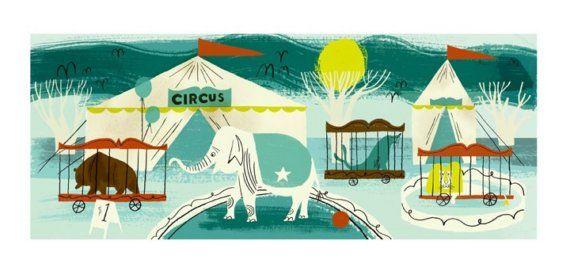 Dan Bob Thompson - Circus Animals