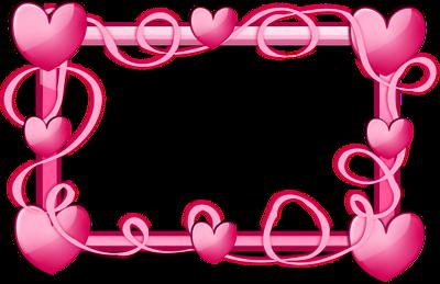 Heart Shaped Flowers Frame Heart Frame Love Heart Images Frame