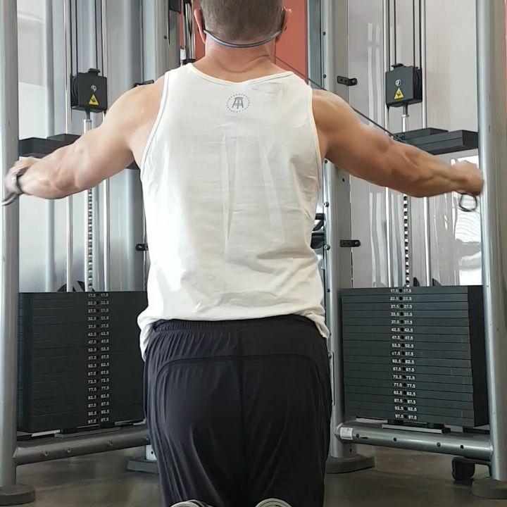 Shoulders  #arms #back #workout #fitness #shoulders #vacation #saftb #...