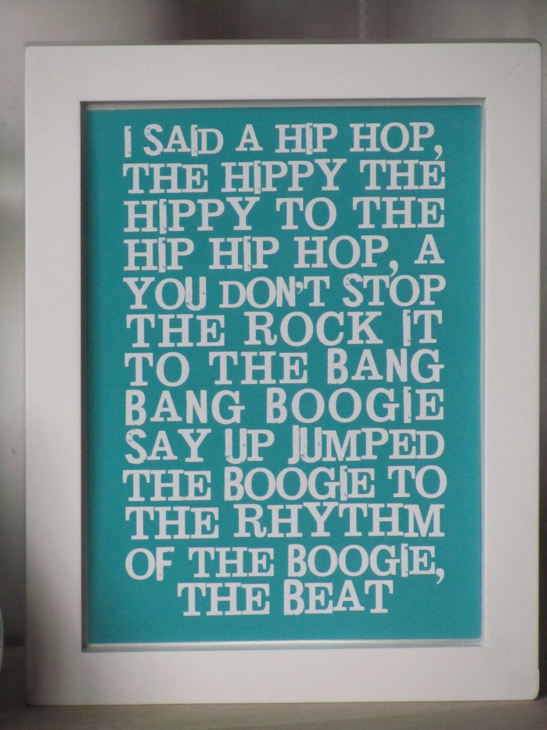"""Aaaahhh, the memory of Nikki Symmonds """"rapping"""" along with"""