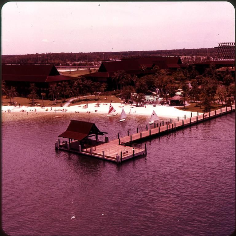 The Polynesian Resort, 1970's (With Images)