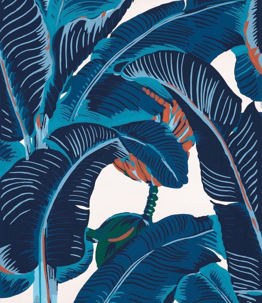 Beverly Hills Martinique Banana Leaf Wallpaper