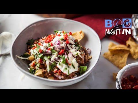 Chili Beef Nachos Recipe | Big Night In - YouTube