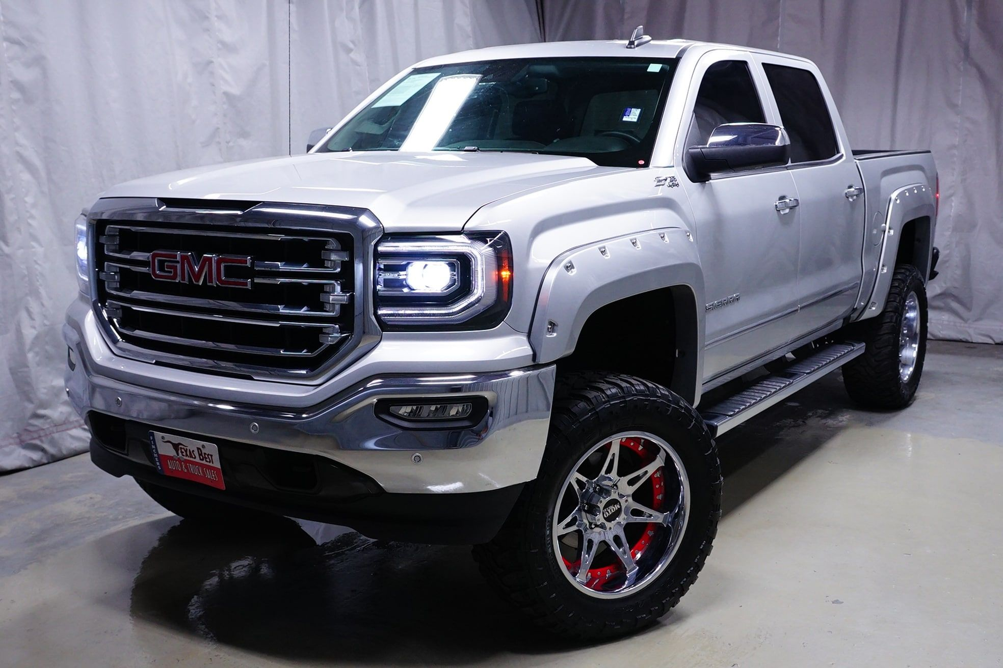 New Inventory Alert Custom Lifted 2017 Gmc Sierra 1500 Slt For