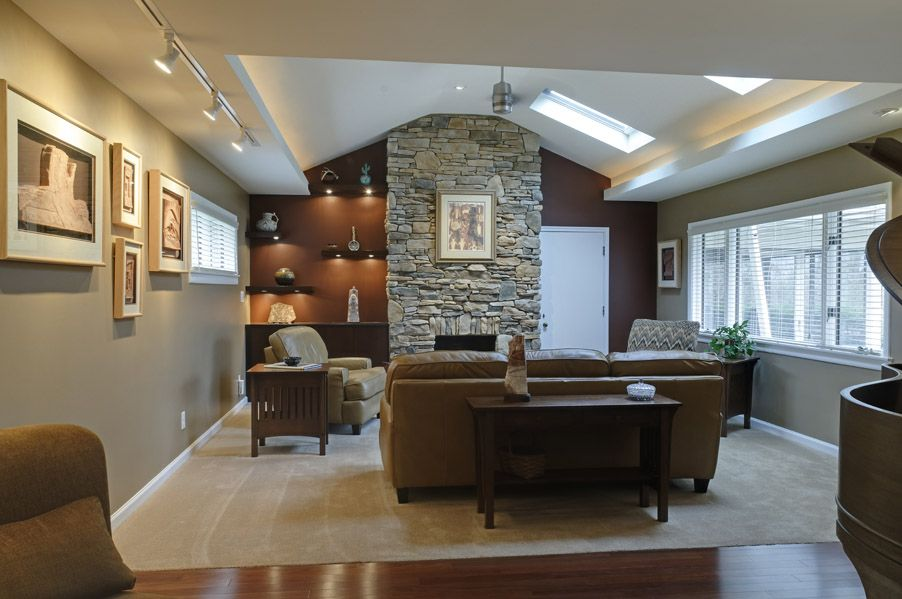 Partial Basement That Is Finished And Ready For You To Entertain Home Granite Countertops Countertops