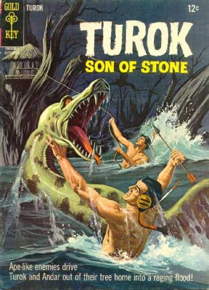 Turok Son Of Stone Covers Comic Books Art Comics Classic Comics