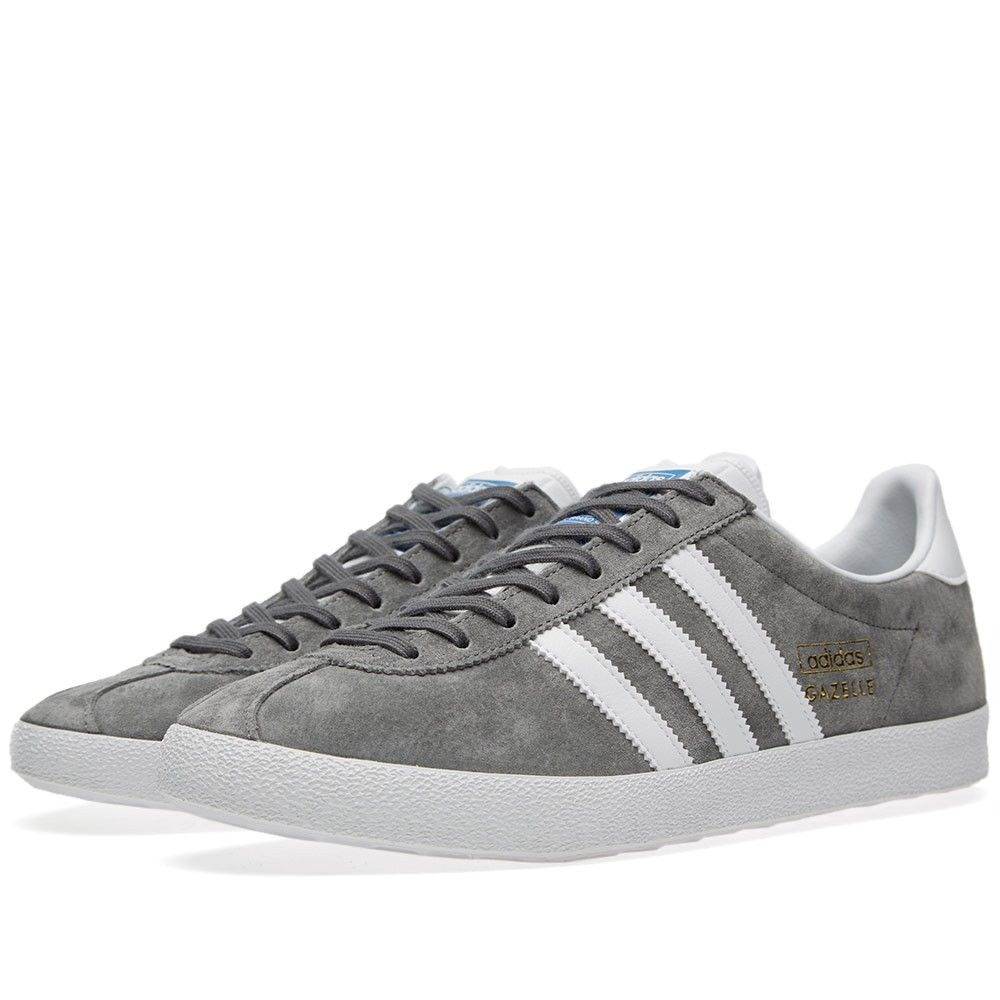 Adidas Gazelle OG (Sharp Grey \u0026 Running White) Article: G51304 Release:  2015 � Adidas GazelleMen\u0027s ShoesSneakers ...