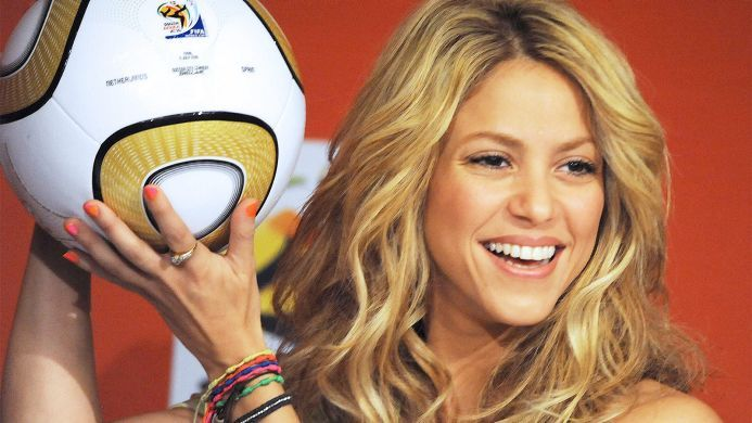 Soccer News Videos Scores Standings Stats Teams Shakira World Cup Song Time For Africa