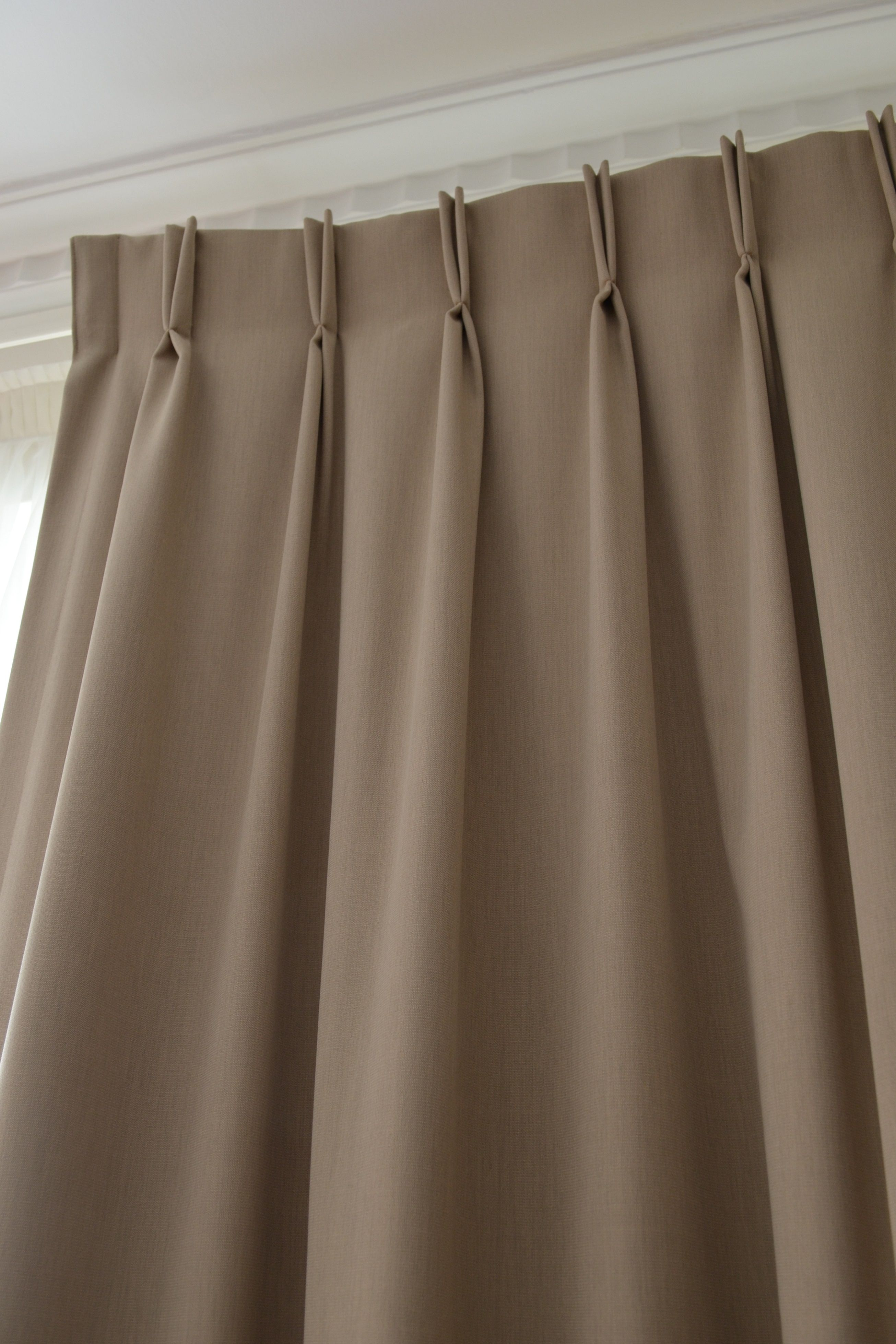 Double Pinch Pleat Curtains Curtains Pinterest