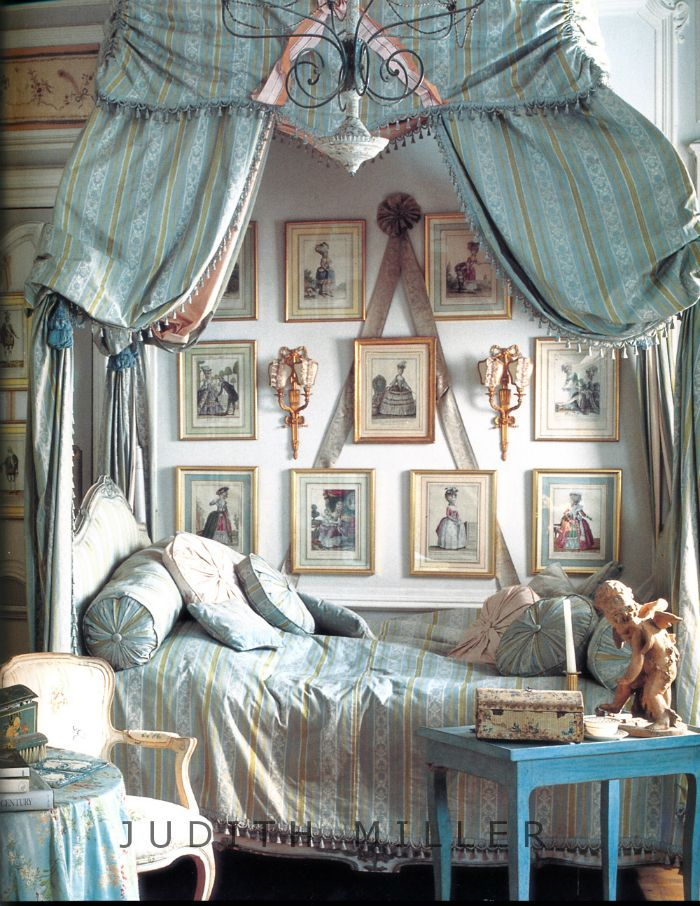 Chateau Chic Bedroom Ideas French Chic French Chateau And - French blue bedroom design